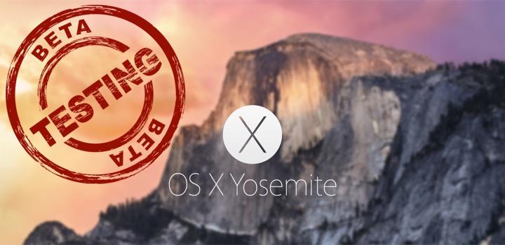 La Beta de OS X Yosemite Ya Está Disponible - Solución de Problemas
