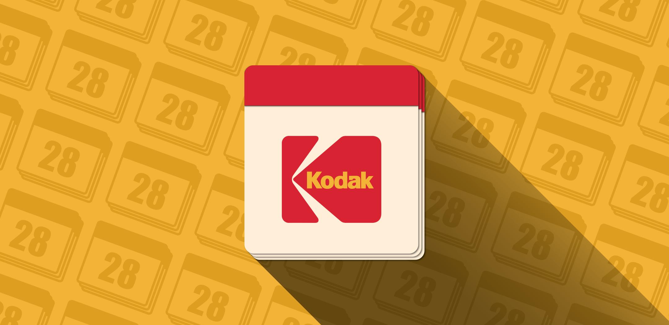 El Calendario Kodak