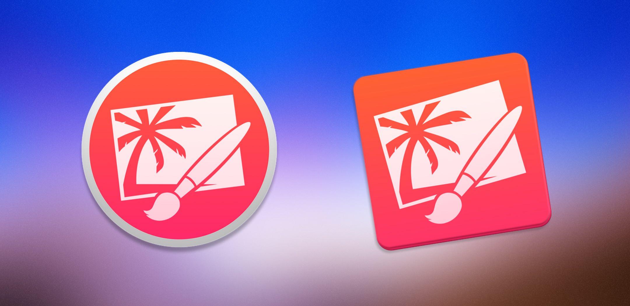 Iconos OS X Yosemite: Pixelmator