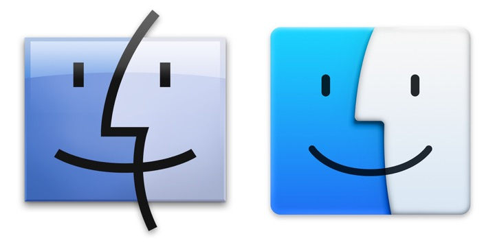 Iconos OS X Yosemite Vs. OS X Mavericks