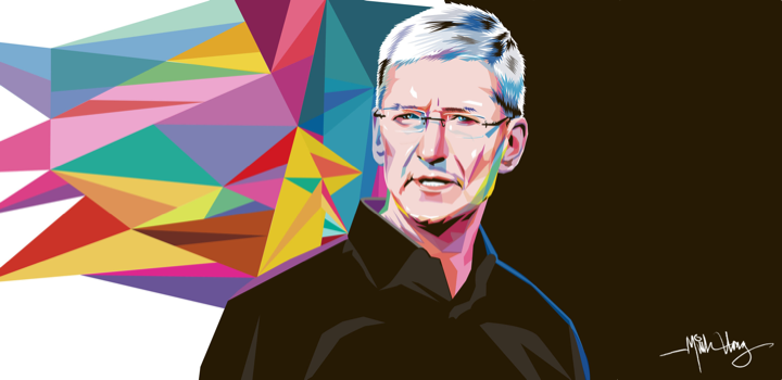 Tim Cook, versionando Apple