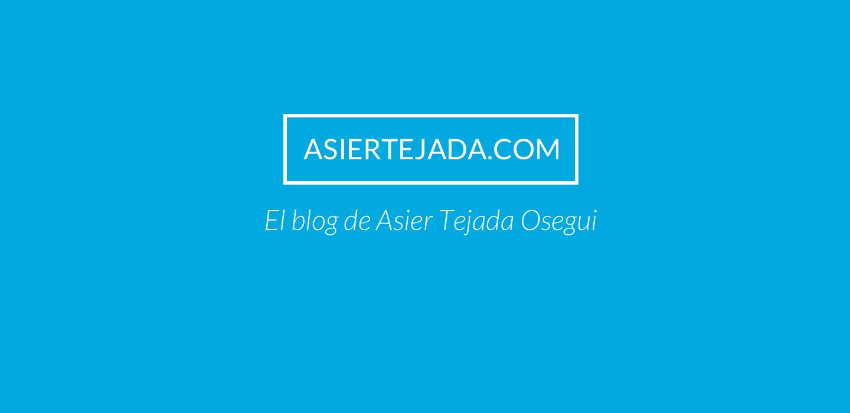 El Blog de Asier Tejada Osegui — El Retorno