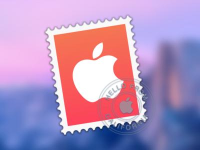 Concepto de Icono para Reemplazar Mail en Yosemite