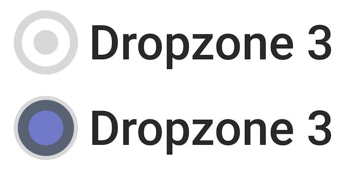 Concepto del nuevo logo de Dropzone